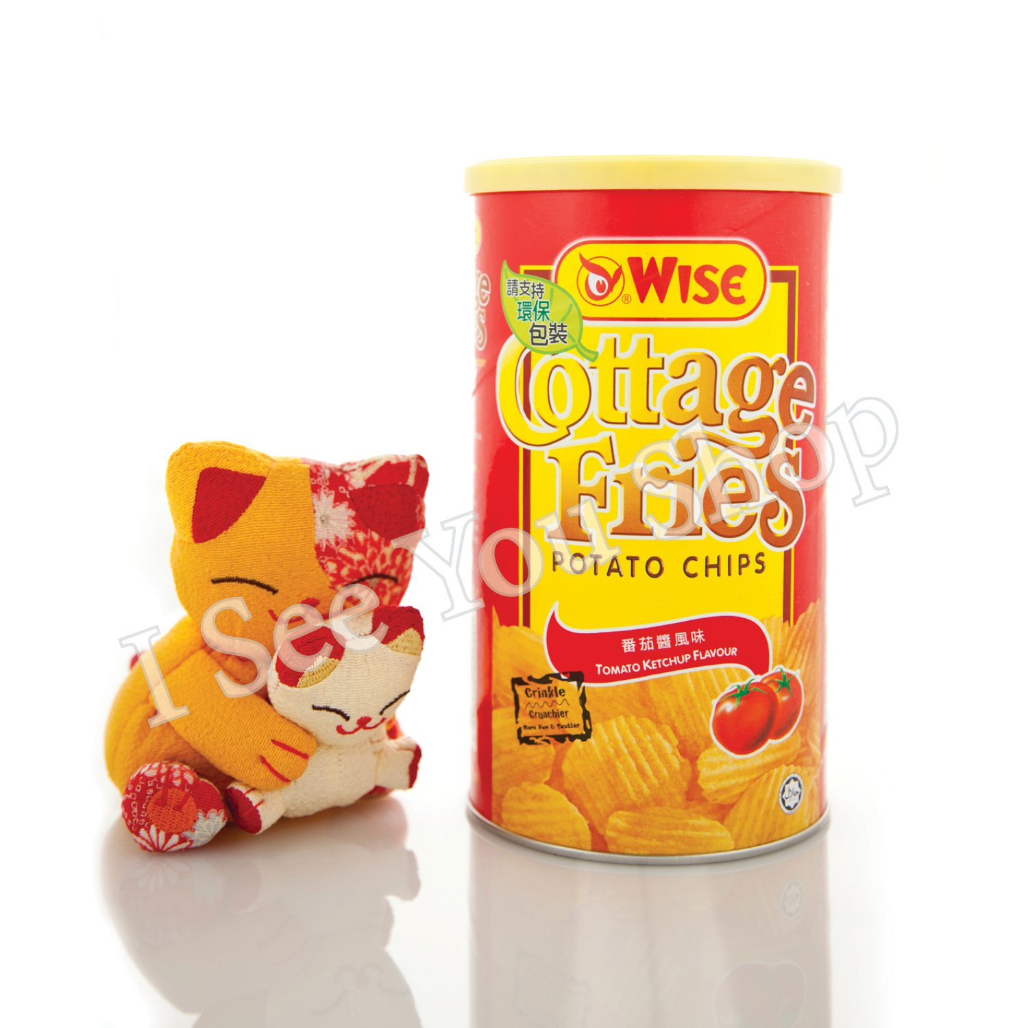 Wise ����� Wise Cottage Fries Tomato Ketchup Flavor 100g