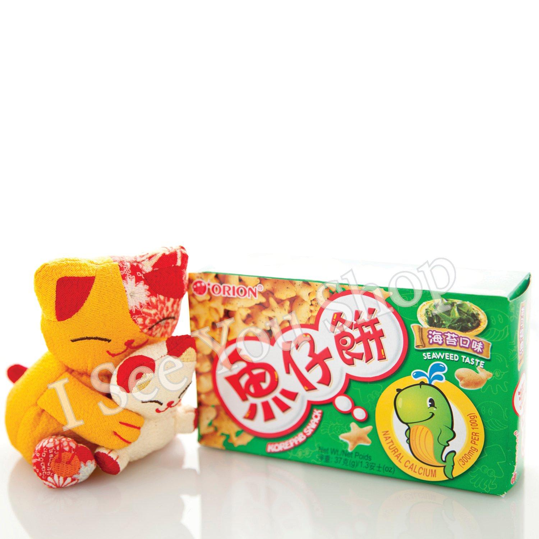 �� 海����� ORION Seaweed Taste Korepab Snack 37g