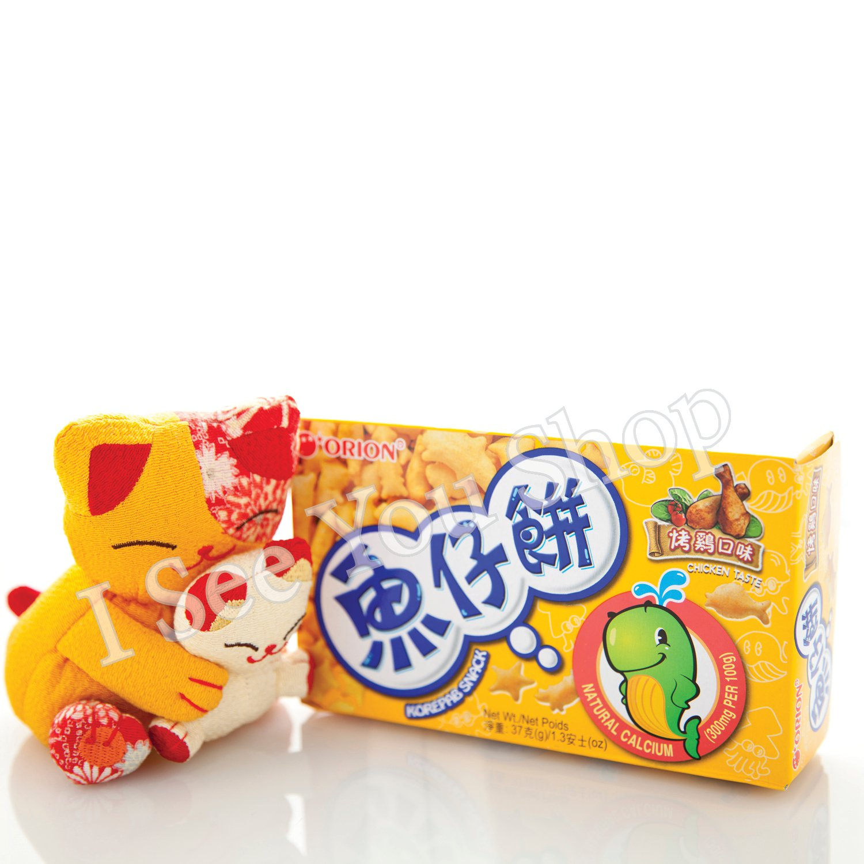 �� ������ ORION Chicken Flavor Korepab Snack 37g