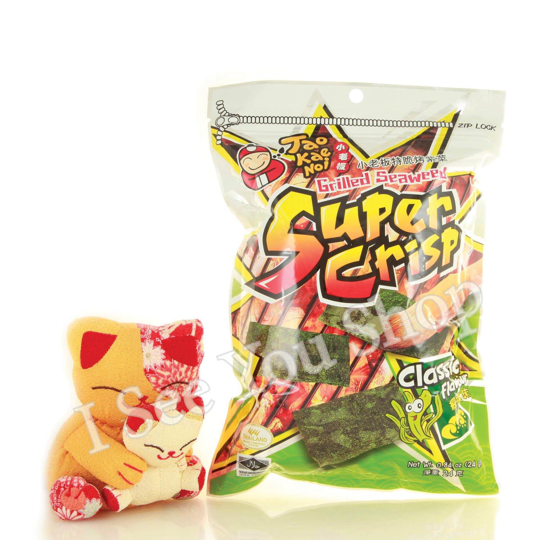 ������紫� ��� 24g Tao Kae Noi Super Crisp Grilled Seaweed Classic Flavour 24g