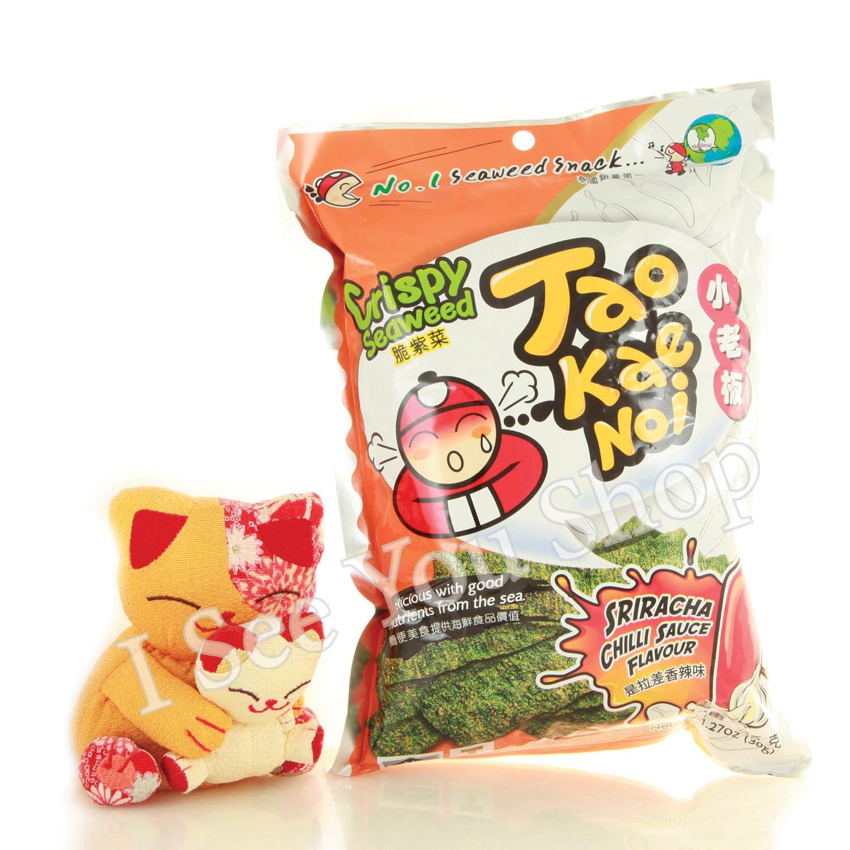 ��� ��差�辣� 24g Tao Kae Noi Crispy Seaweed Sriracha Chilli Sauce Flavour 24g
