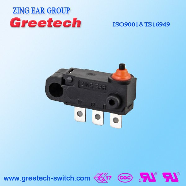 125VAC Subminiature Micro Switch
