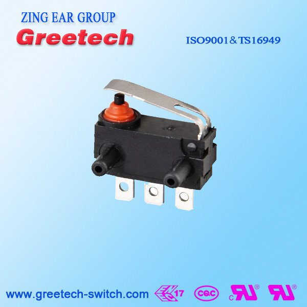 250VAC Subminiature Micro Switch