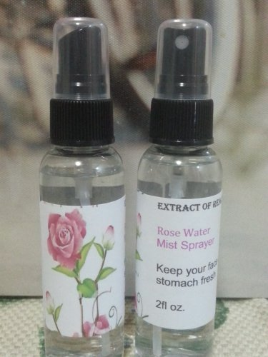 Rose Water 100% Pure ,Extract Of Real Roses Mist Spray Bottle 2oz