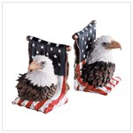 American Eagle Bookends (Pair)