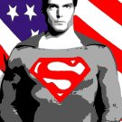 Christopher Reeves as Superman Acrylic Pop Art Painting