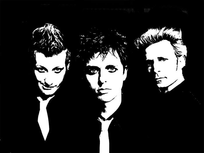 Green Day Acrylic Pop Art Painting