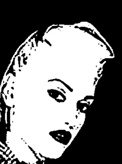 Gwen Stefani Acrylic Pop Art Painting