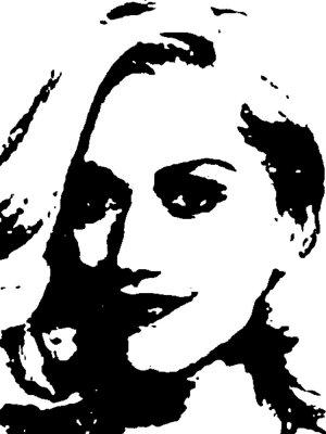 Gwen Stefani Acrylic Pop Art Painting