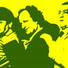 The Three Stooges Acylic Pop Art Painting