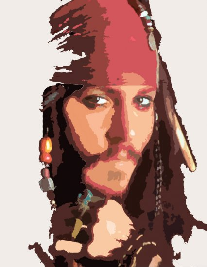 Jonny Depp Acylic Pop Art Painting