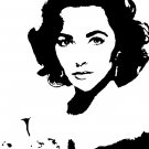 Elizabeth Taylor Acylic Pop Art Painting