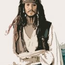 Jonny Depp Acylic Pop Art Painting