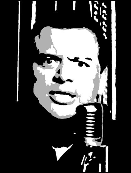 Carlos Mencia Acrylic Pop Art Painting