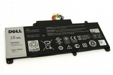 NEW 3.7V 18Wh Genuine 74XCR Battery For Dell Venue 8 Pro (5830) Tablet 074XCR