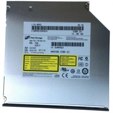 H.L GT80N SATA CD DVD RW Writer Burner Drive Super Multi Rewriter 12.7MM