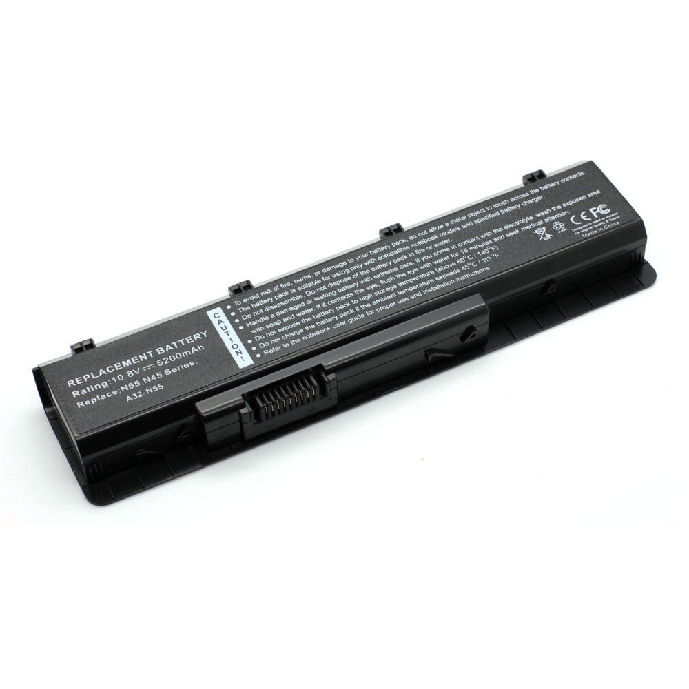 AS-N55 10.8V 5200 6cell Laptop Battery for ASUS N45 N45E N45S N45J Series 101-03302-08023
