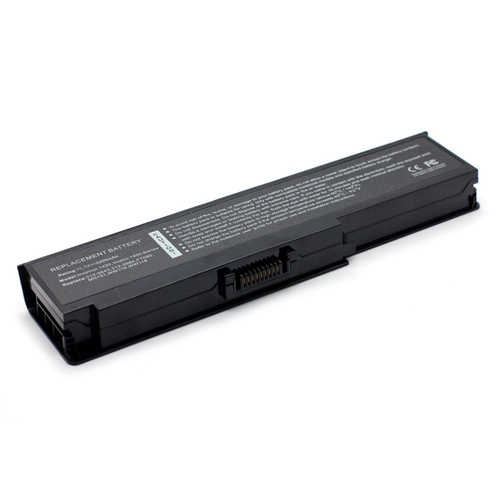 DE-1420 11.1V 5200 6cell Laptop Battery for DELL 312-0543, 312-0580, 312-0584 101-04069-22023