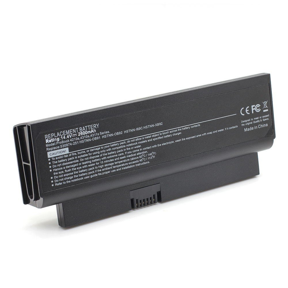 HQ-4310S 14.4V 2600 4cell Laptop Battery for HP 530975-341, 57931-001, AT902AA 101-05129-75023