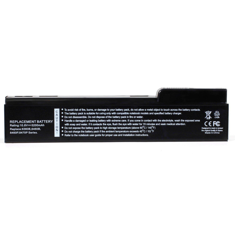 HQ-6360B 10.8V/5200MAH 6cell Laptop Battery for HP 628369-628369 630919-630919 101-050DY-08023