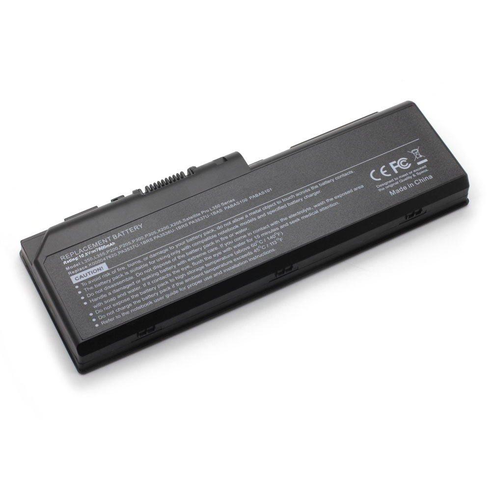 TS-PA3536U 10.8V 7800 9cell Laptop Battery for Toshiba PA3536U-1BRS, PA3537U-1BAS 101-07249-11023
