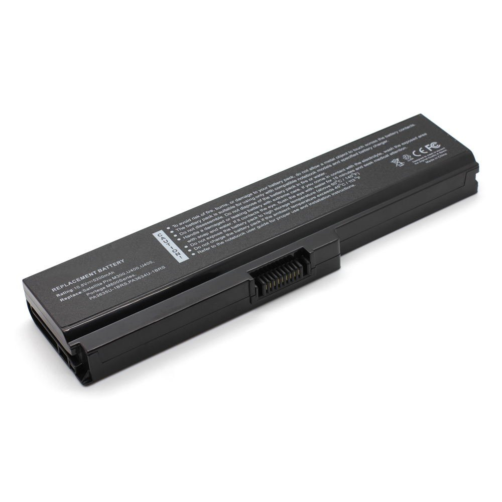 TS-PA3634U 10.8V 5200 6cell Laptop Battery for Toshiba PA3634U-1BAS, PA3634U-1BRS 101-07252-08023