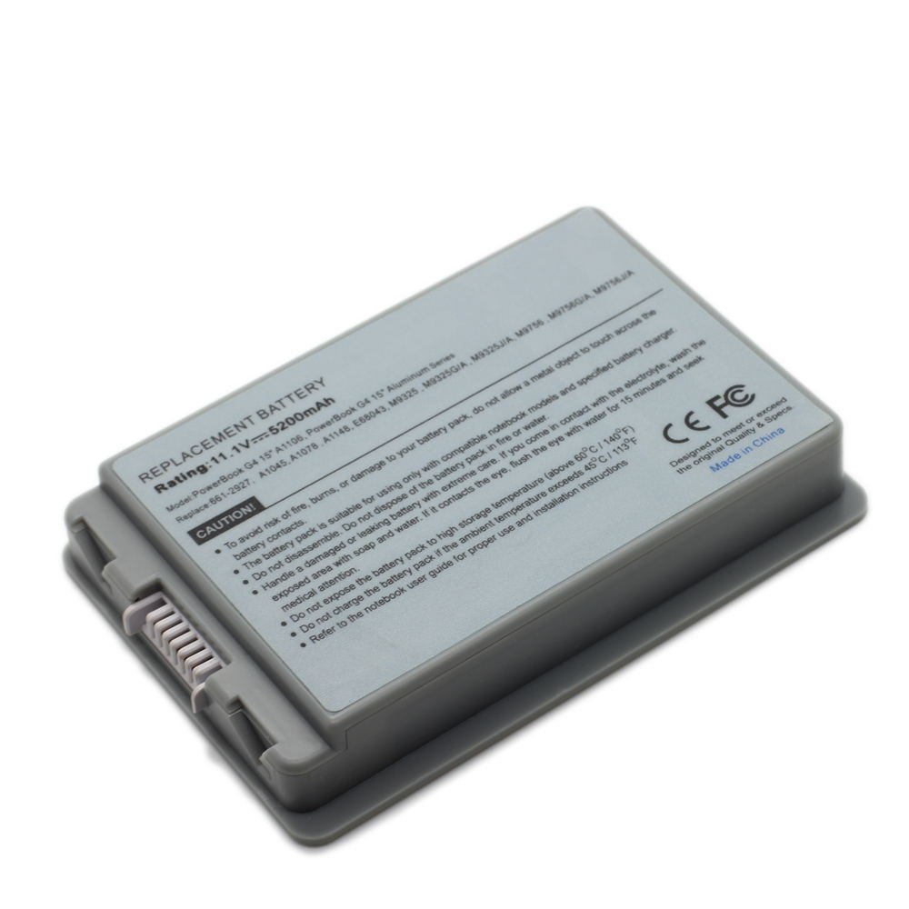 AP-A1078 11.1V 5200 6cell Laptop Battery for APPLE 661-2927, A1148, E68043,101-08029-22083