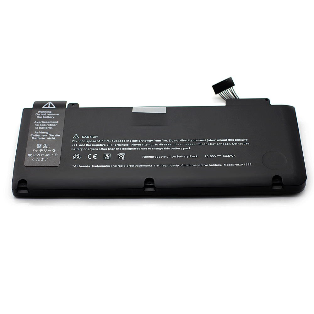 AP-A1322 10.95V 63.5WH 6cell Laptop Battery for APPLE 661-5229, 661-5557020-6547 - A 101-080CW-2A023