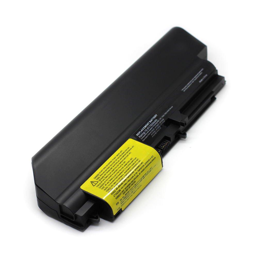 IB-T61 10.8V 7800 9cell Laptop Battery for Lenovo 41U3197, 41U3198, 42T4502 101-06179-11023