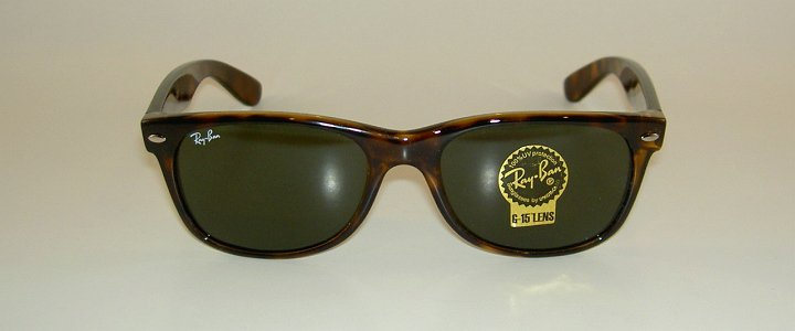 943a33bbe4168 new ray ban sunglasses brown wayfarer rb 2132 902 g 15 glass lens 52mm  medium