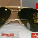 New RAY BAN sunglasses AVIATOR Outdoorsman Gold Frame RB 3407 001 G-15 Lens 58mm