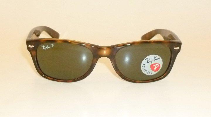 5a7277d78a8 ray ban new wayfarer brown frame rb 2132 902 58 glass polarized 55mm large