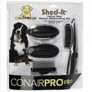 Conair Pro Shed-It Deluxe Deshedding Kit for Large Dogs
