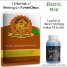 Shaver Shebang Cleaning Concentrate for all Remington Clean Systems, Mint Scent