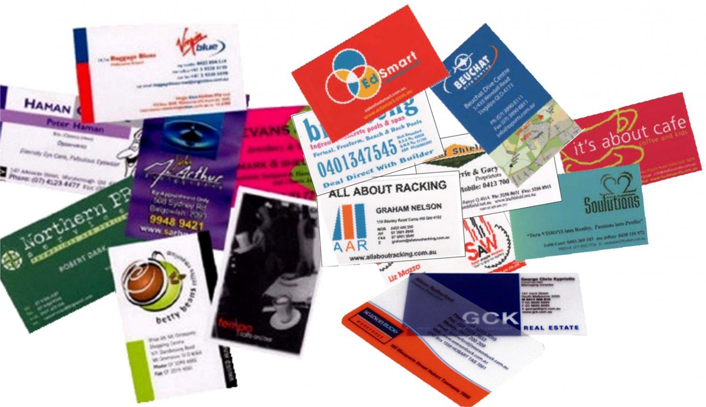 Printing Business Cards 100 pcs