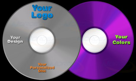 Printing Discs With Your Logo 4 pcs
