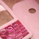 Nokia 7610 PinK FLUFFY cover housing case casing faceplate