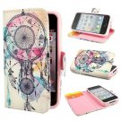 New Dream Catcher Hot air Balloon Macarons Mandala Wallet Leather Card Stand Flip Cover