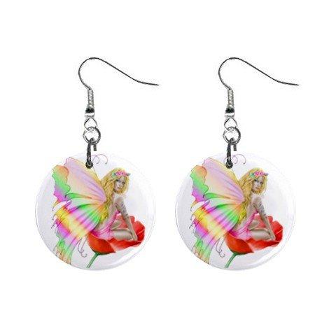 Fairy Mystic Dangle Earrings Jewelry 1 inch Buttons 12116675