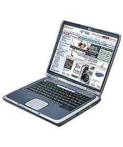 HP Pavillion Athlon notebook