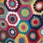 Crochet Granny Square Queen size Blanket