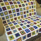 Crochet Granny Squares Afghan