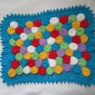 Crochet American girl Doll blanket