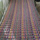 Crochet Ripple Zebra Blanket