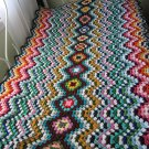 Crochet Ripple Play Blanket