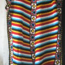 Navajo afghan Stripes Crochet Blanket