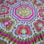 Butterflies Crochet Blanket