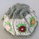 Crochet Granny Square pouch..