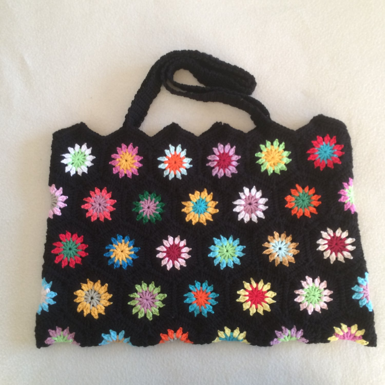 Crochet Granny Square.bag