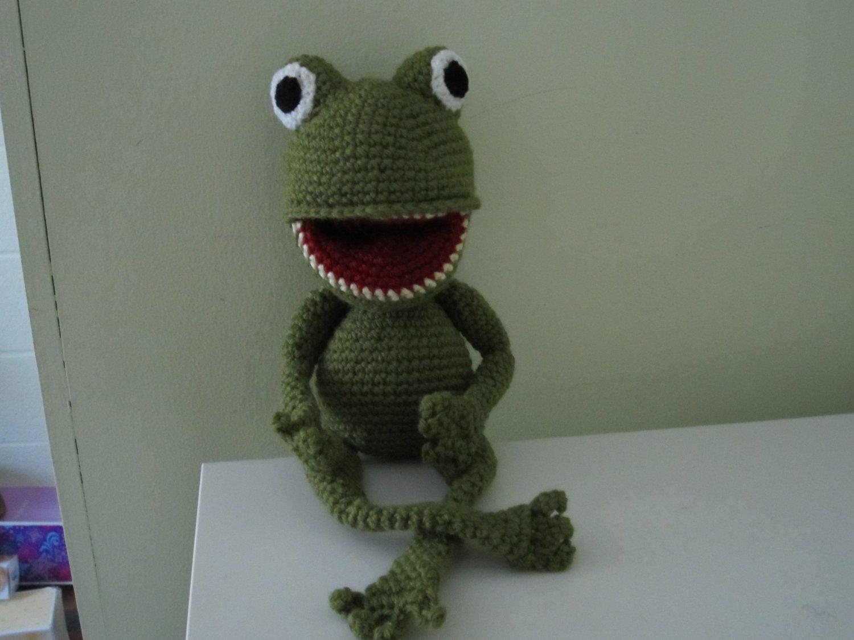 Crochet Frogy